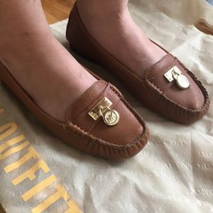 Michael Kors brown shoes size 6M